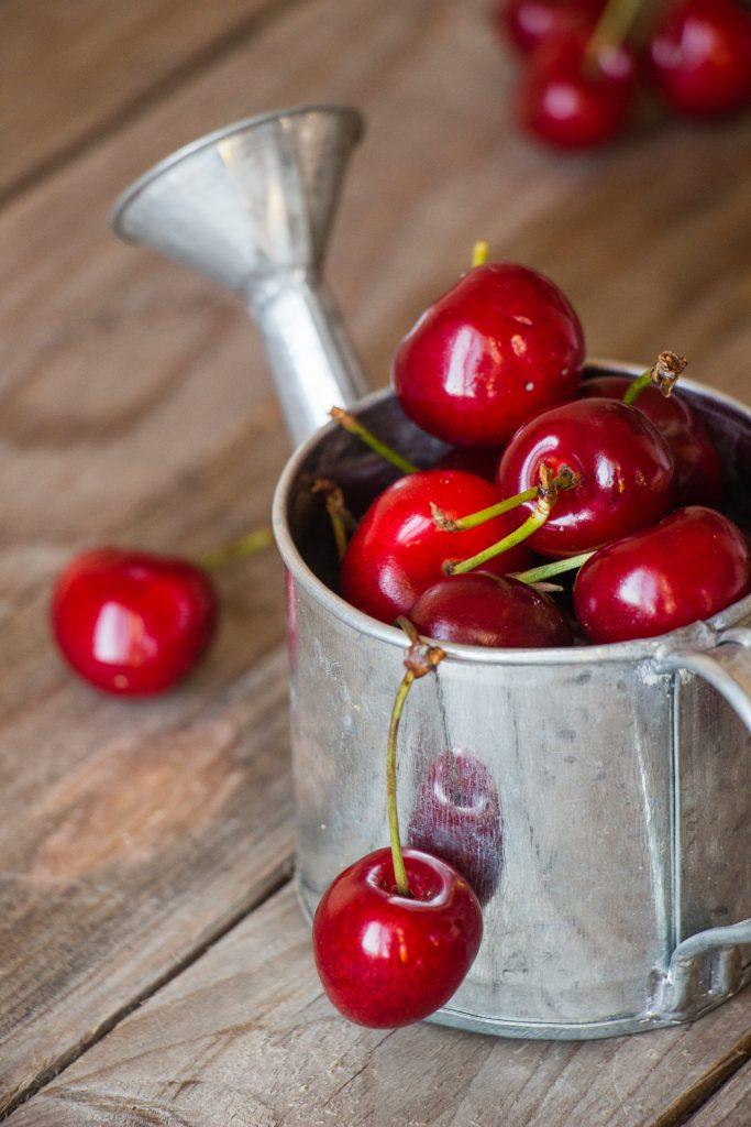 Frutti estate ciliegie