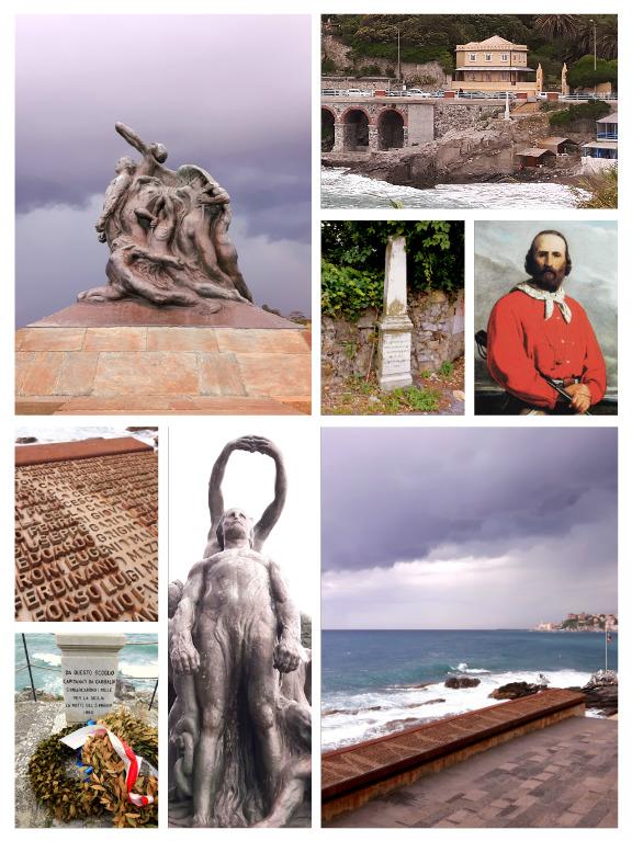 Garibaldi luoghi collage