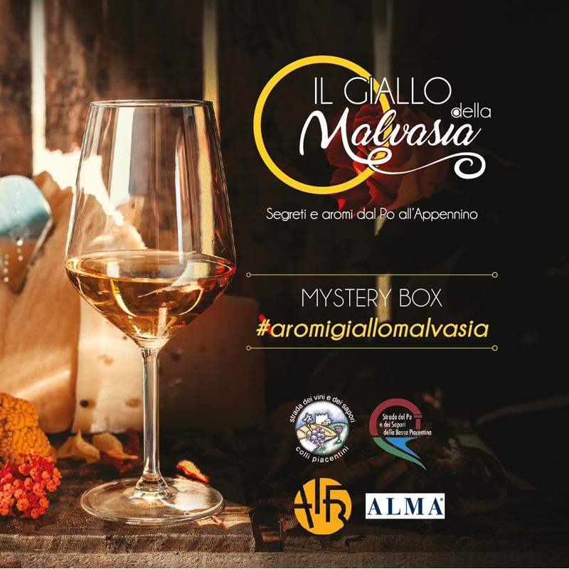 Locandina Contest Aromi Giallo Malvasia