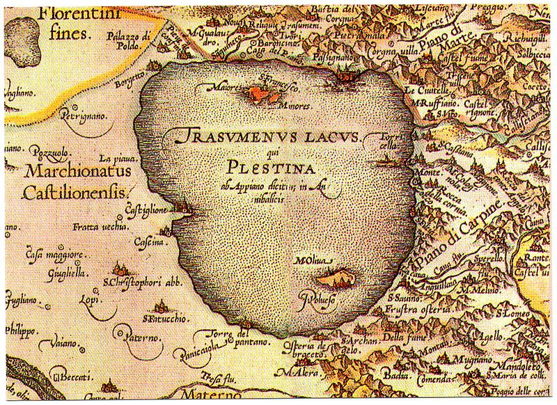 GT Umbria mappa trasimeno