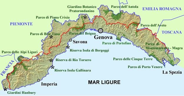La Liguria e le coltivazioni di Il Basilico genovese Dop