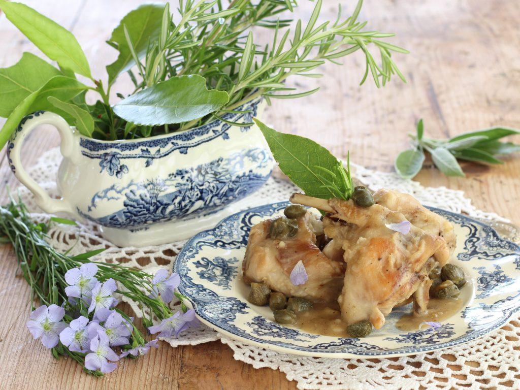una ricetta per valorizzare il coniglio verde leprino di Viterbo