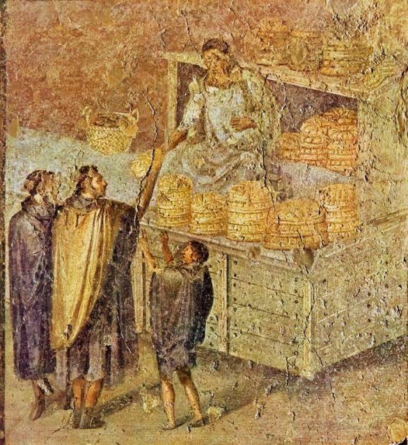Sono molte le testimonianze della tradizione panificatoria nella Roma antica
