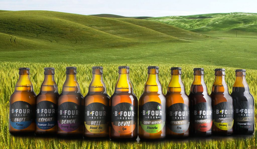 Ampia scelta di aromi per questa birra particolare